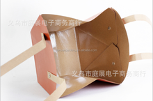 Wholesale china fancy kraft paper gift bag,hand brown kraft paper gift box