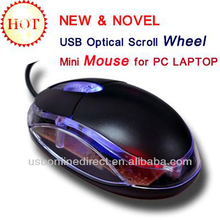 20000pcs stock PC mouse for dell sony wired mouse LED Optical Wired Scroll Wheel Mini Mouse Mice