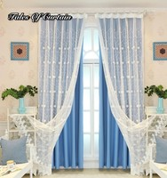 Top 1 wholesale sheer curtain fresh and 100 polyester curtains