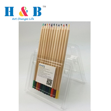 cheap wholesale Soft Smooth 12 premium artist color pencil set