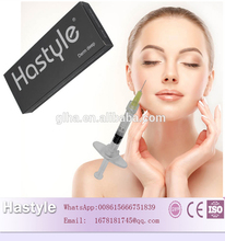 Professional nose/chin/cheek shapinig Hastyle hyaluronic acid filler for nose enlargement 2ml nose