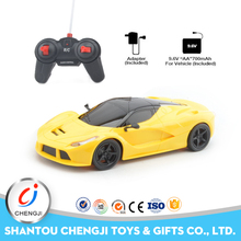 Low price 1:16 size four channel rc cars with rechargeable battery for kids