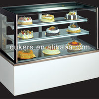 Marble Based Bakery Cooler Cake Display