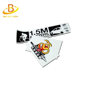 Professional printing outdoor 3m vinyl sticker, custom vinyl sticker, car vinyl sticker