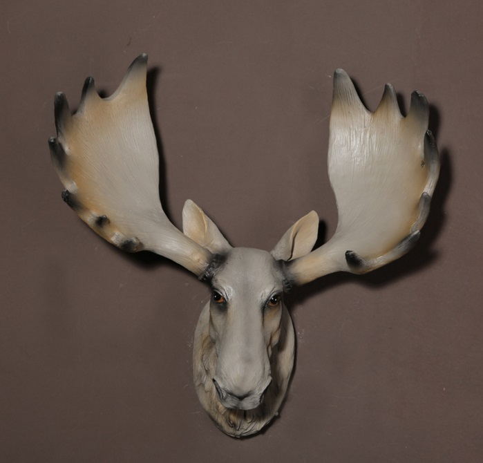 Wholesale elegant American natural resin animal deer antlers wall hanging decoration gift for home decoration
