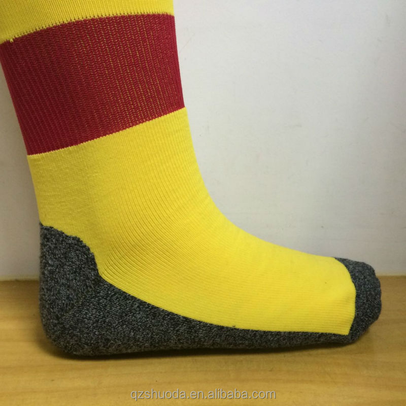 wholesale custom football team socks soccer socks