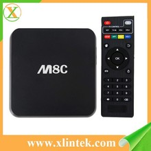 M8C 4k*2k OTA 1G 8G bluetooth 4.0 wifi android 4.4 Amlogic S812 quad cord tv box