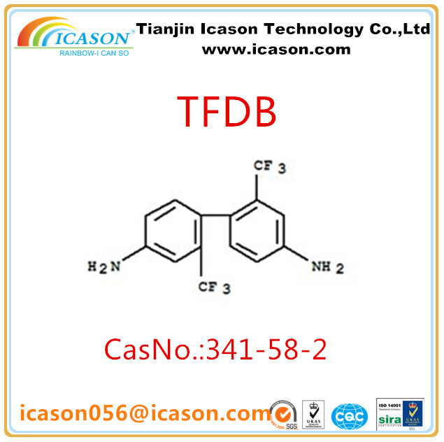 Synthesis Fluorine-containing polyimide TFDB/TFMB CASNO.:341-58-2