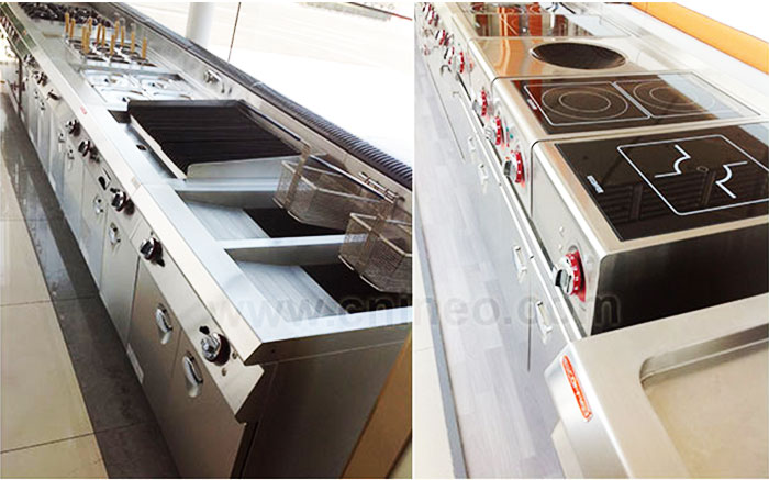 Guangzhou INEO Professional Restaurant Modern Cooking Equipment,Kitchen Design