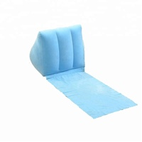 GX Inflatable Small Size Blue Wedge Pillow