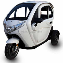 3 Wheels Tricycle Electric Cargo Tricycle With Cabin