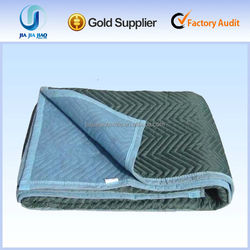 China manufacturer of home textile polyester moving padding; furniture used felt moving pads blankets