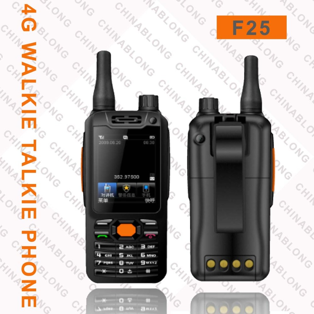 mobile phone with walkie talkie F25 cheap mobile phone with skype smart poc dmr radio