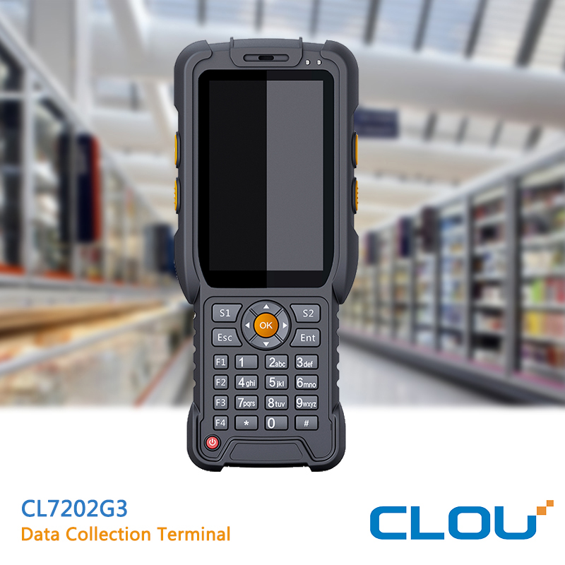CLOU CL7202G3 rugged Android 5.1 RFID/barcode PDA with free SDK