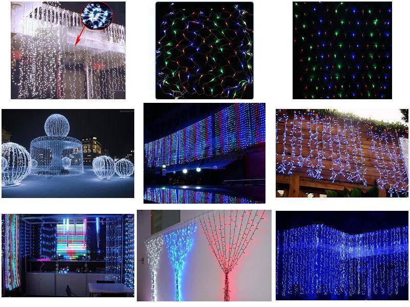 Fiber Optic Waterfall Light Curtain,Led Decoration Light