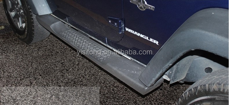 Side bar fit for 2011-2014 Jeep Wrangler Mopar style running board