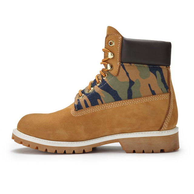 Safety Shoes and Cleanroom Safty Boots Camouflage Cow Leather