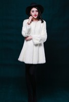 Winter Women Female Mink Fur Coat Ladies' Fur Garment Clothes