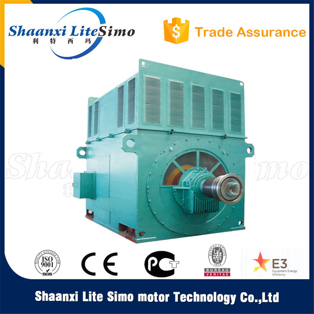 High voltage squirrel cage 2500kw 1490rpm 285A 4P YKK 3 phase induction motor