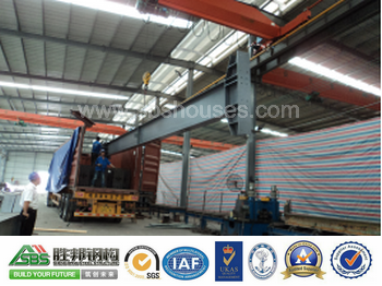 Low Cost Light PVC Window Prefabricated Steel Structure Warehouse