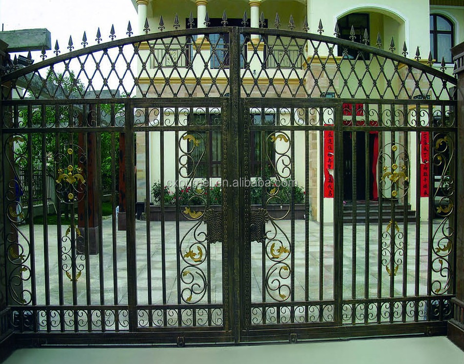 Customized Wrought Iron Gate Designs Garden Gate Buy