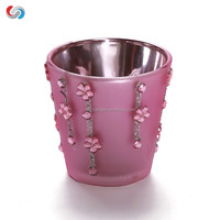 2016 NEW PRODUCT, creative electroplating candleholder candle holder for wedding centerpieces
