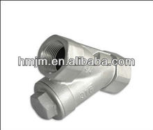 high quality stainless steel y-strainer ball valve