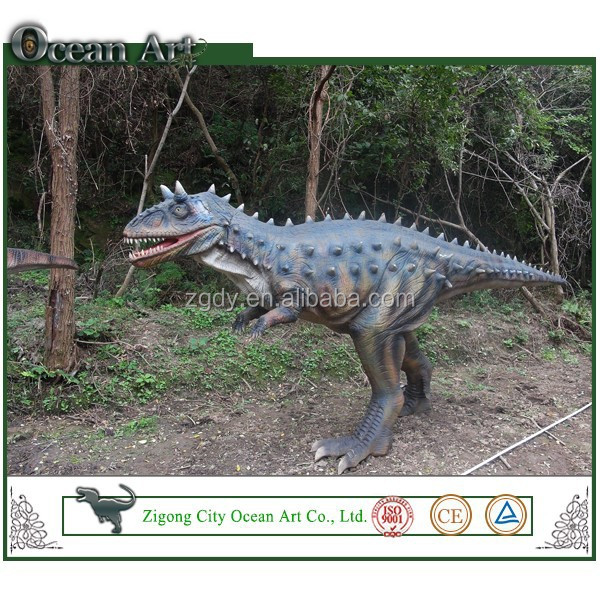 Life-like custom simulation plastic dinosaur figures