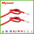 High temperature soft electrical wire UL silicone wire UL style