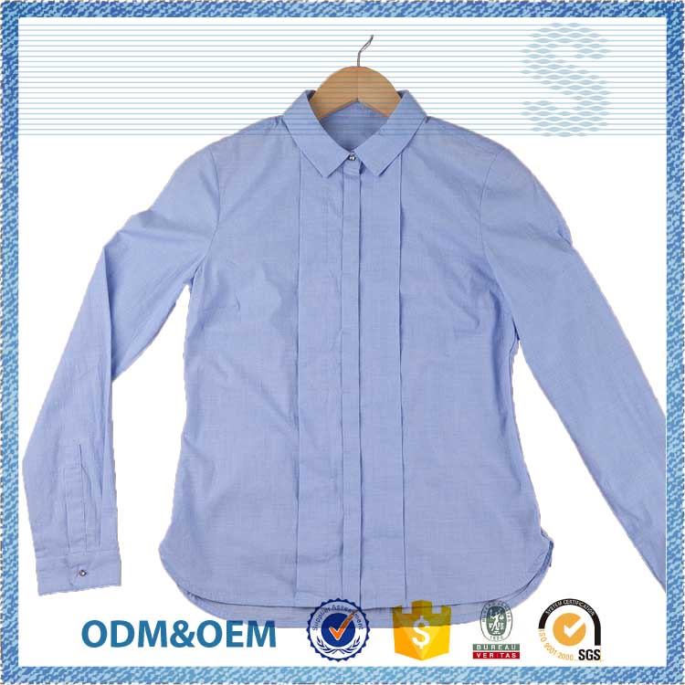 Welcome OEM ODM modern style ladies blouse