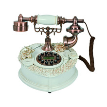 Home use resin telephone retro style telephone TL0212NS