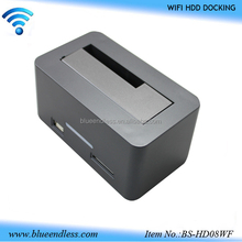 "2.5""/3.5"" usb3.0 to sata wifi hard drive dock all in 1 ssd hdd Docking station"