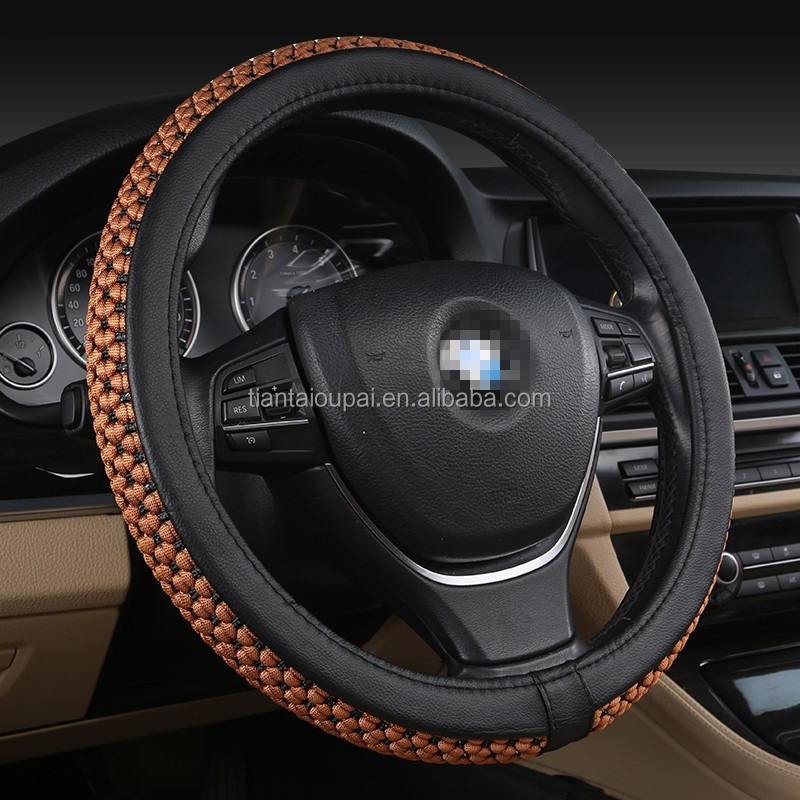 B-104 2017 new ice silk four seasons universal steering wheel cover