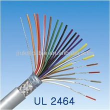 300V 80C PVC UL2464 Computer Cable Copper wire Braiding Shielded Cable (**L)