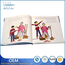 Mini story printing children board book on sale