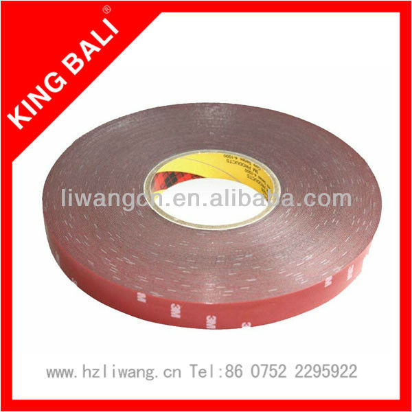 3M 471 colored vinyl self adhesive tape for warning