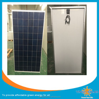 YINGLI 10Years Warranty 4BB Solar cells Poly 260W 265W 270W Per Watt solar panel