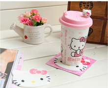 2d 3d soft pvc pink promotional mug pad for desk water drip