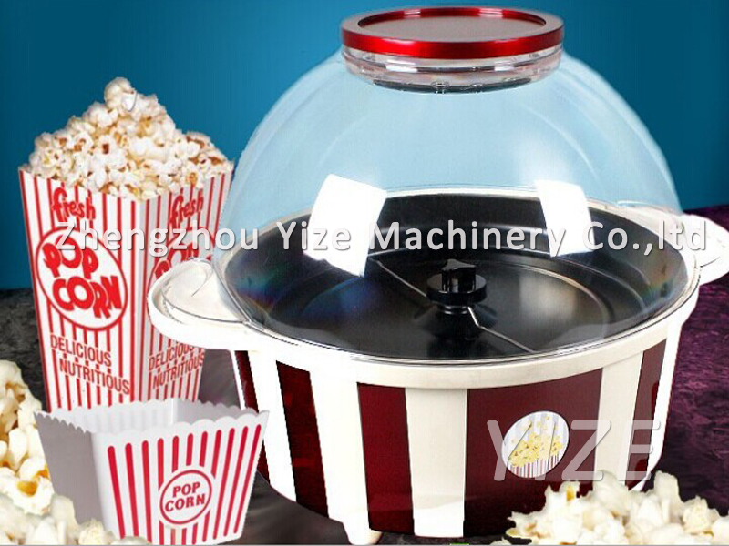 how to operate a popcorn machine