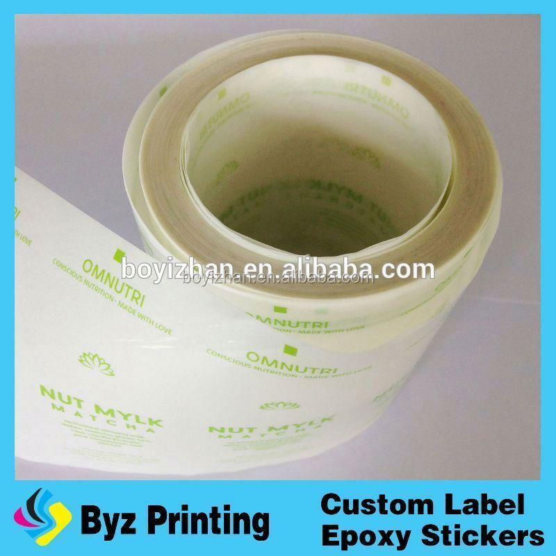 blank transparent sticker laser label hologram printer scratch-off gloss paper label