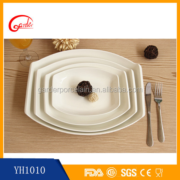 China porcelain cheap charger plates wholesale