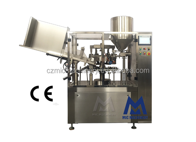 MICMachinery R-60 Factory Supply 150ml Urban Defense Facial Cleansing Milk Filling Machine