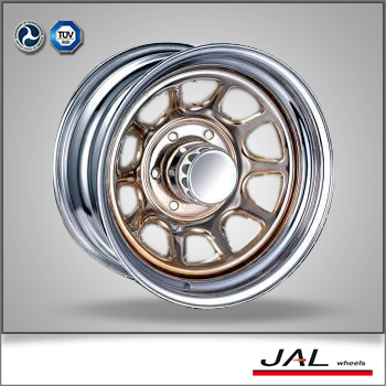 High Performance Chrome Rim 4x4 Wheels Rims for SUV Trailer Wheel
