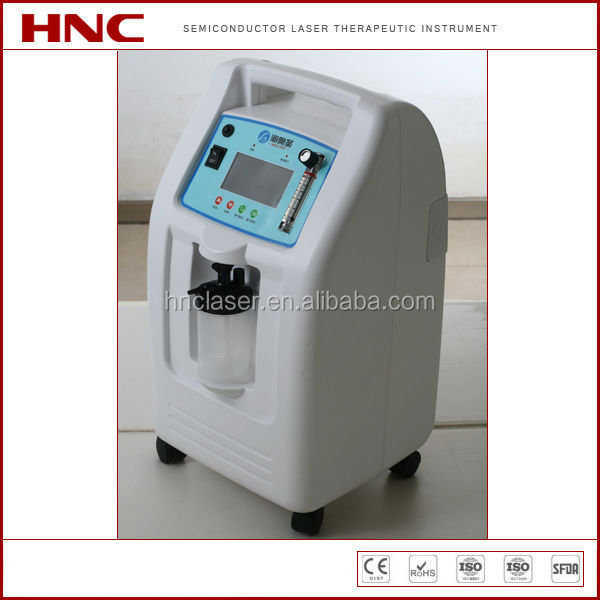 HNC factory offer oxygen concentrator portable 5L 3L 1L with >90% oxygen output best selling