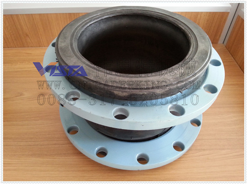 Flange epdm expansion joint single sphere rubber bellows