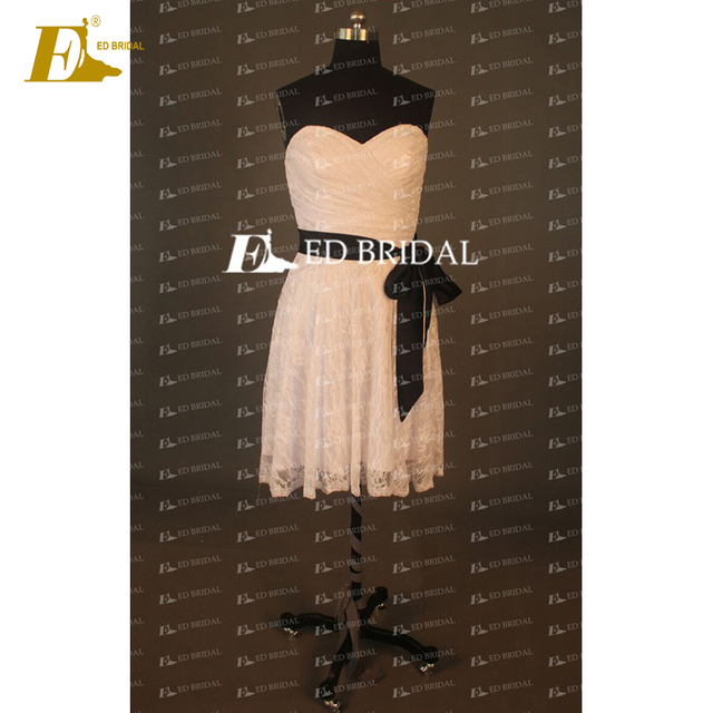 New Collection Sweetheart Lace Tea-length Junior Bridesmaid Dresses