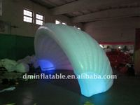 PVC hot winter shell inflatable tent