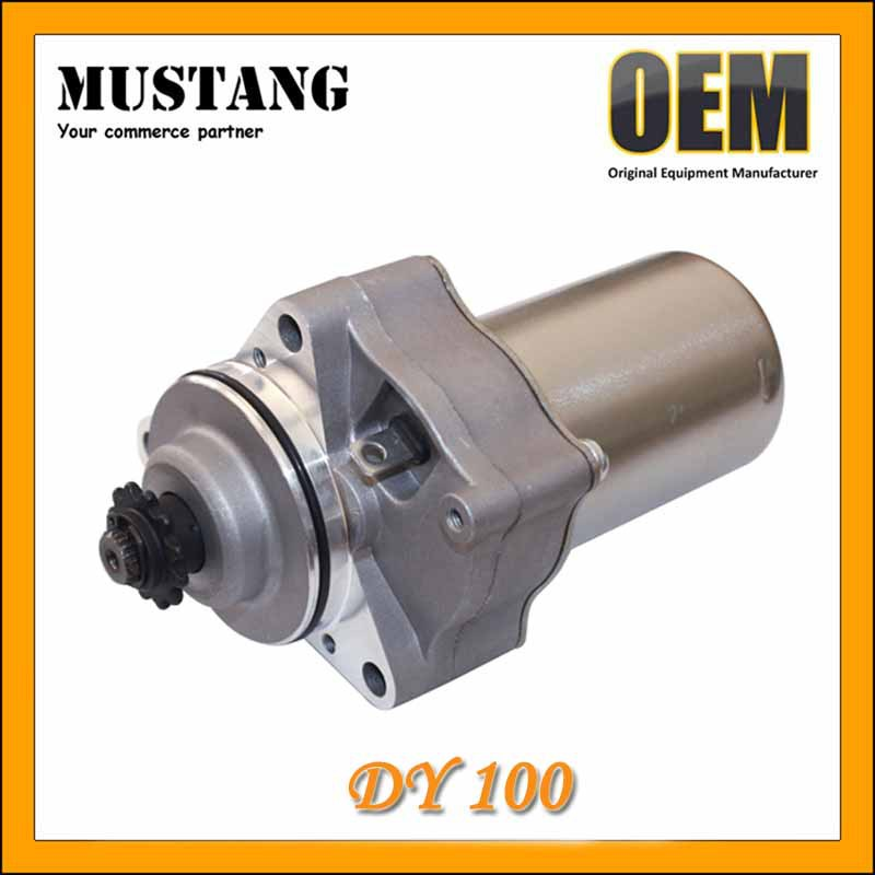 Four stroke 100 cc motorcycle starter motor fits DY100