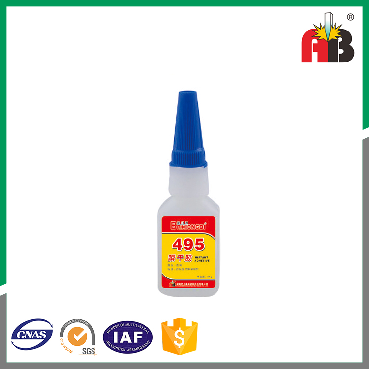 495 plastic bonding instant adhesive glue for Electronic appliances