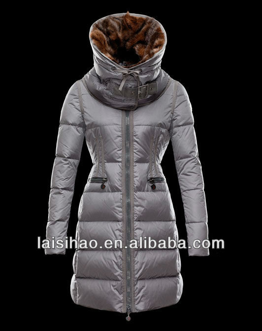 womens long padding coat